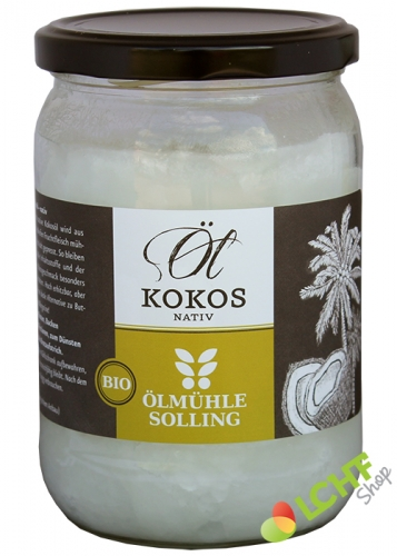 Kokosöl (nativ) - Bio - 500 ml